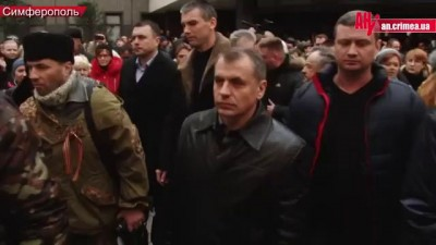 Митинг под ВР Крыма, Константинов