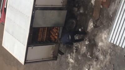 Погрузка хлеба в Новосибирске