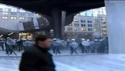 Фермеры протестуют в Брюсселе