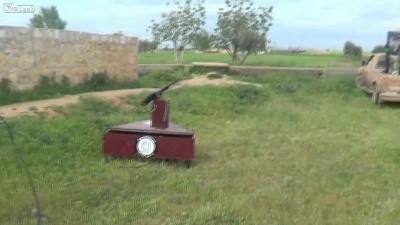 Автомат самоходка - Самоделка
