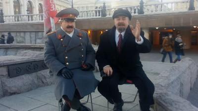 Ленин дал интервью для ЯПлакалъ