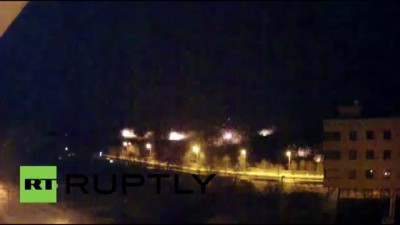 Ukraine: BREAKING - HUGE EXPLOSIONS AS UKRAINIAN ARTILLERY HITS DONETSK AIRPORT AREA