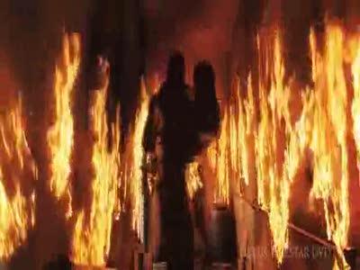 Спасли из пожара