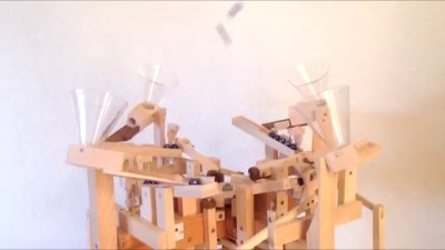 "Paul's marble machine ""Quatro"""