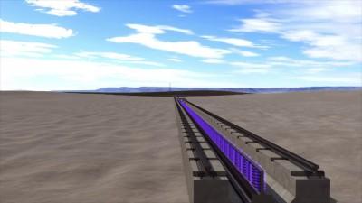 Hyperloop One Propulsion Open Air Test