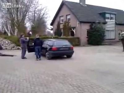 Как вытащить двигатель с Volkswagen