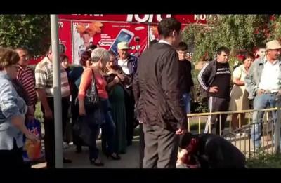 Возле РЦ Галактика убили парня. Уральск