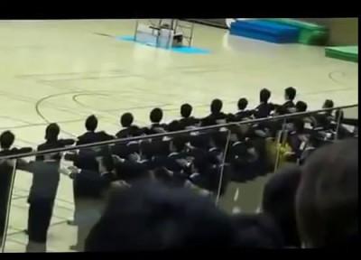 """Вот это строевая! Японская """"Рота почетного караула"""". Как нужно ходить строевым?!"""
