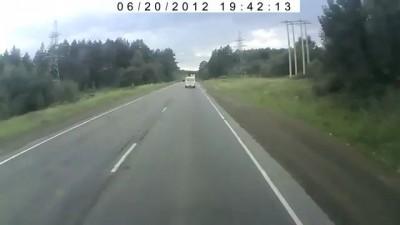 Жесть под Усть Катавом в районе Юрюзани М5 Volvo Truck BLOW UP