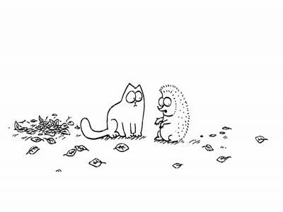 Кот Саймона - Кошачий чат