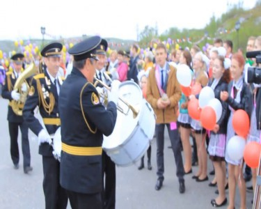 Оркестр поддерживает учеников 1 школы им. Погодина