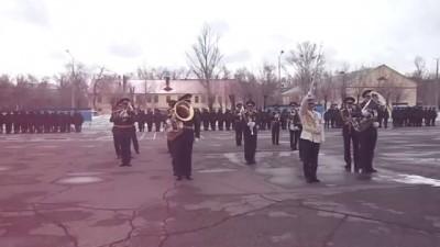 Уральский духовой оркестр исполняет русский рок