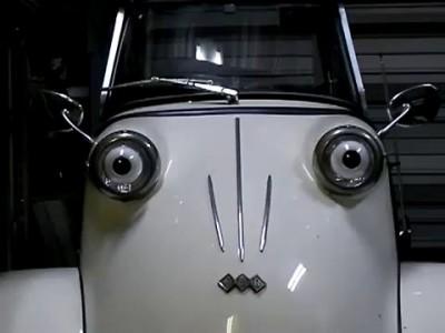 Трицикл Мессершмитт из Auto & Clock -музея города Фукуяма.