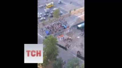 Эпический фейл строительных рейдеров в Киеве