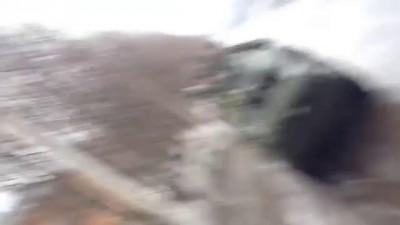 Российские солдаты передают приветы домой из Донецка