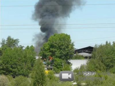 Взрыв автозаправки в Костроме