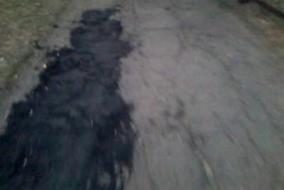 Ремонт тротуара по украински