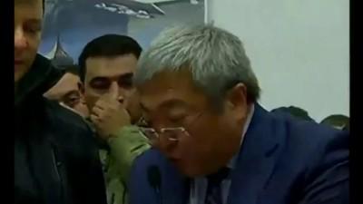 Запорожье мэр Син vs радикал Ляшко 10.12.2014 (видео, скандал, послал на ху..)