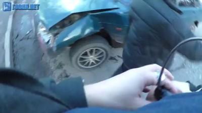 Сумы 28.12.2015 Маршрутка Подрезала Два Авто и Скрылась #Sumy #Новости #DTP #авария #дтп