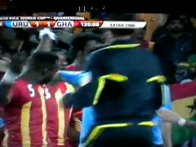 Уругвай против Ганы: футбол и валейбол