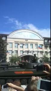 Парад 9 мая Луганск 09.05.2016