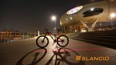 SLANCIO Bike Bicycle Laser Beam Rear Tail Light