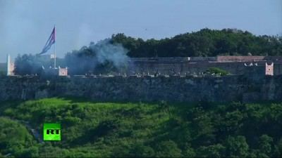 Российские боевые корабли прибыли на Кубу с дружеским визитом