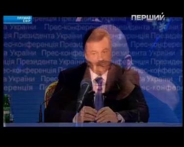 Янукович не завидует журналисту