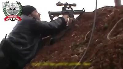 Снайперская дуэль .