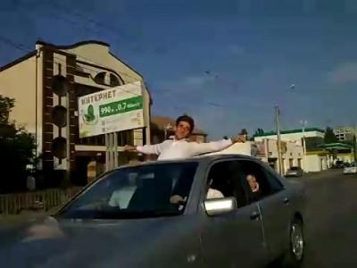 Авария на свадьбе в Дагестане