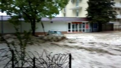 Наводнение в Лазаревской