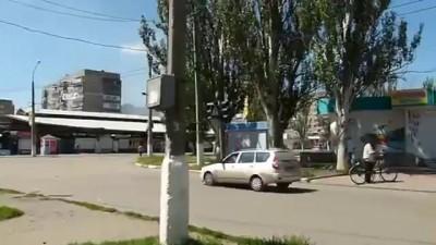Славянск, ВОЙНА 29 ИЮНЯ, обстрел лесного !