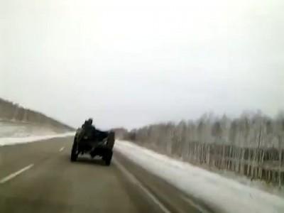 Суперкар на трассе м5