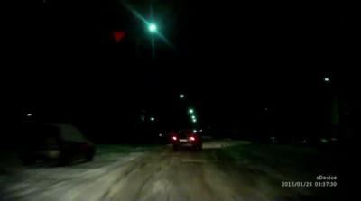 Задержание пьяного водителя в Пскове
