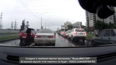 """""""Учитель"""" на дороге не на того нарвался"""