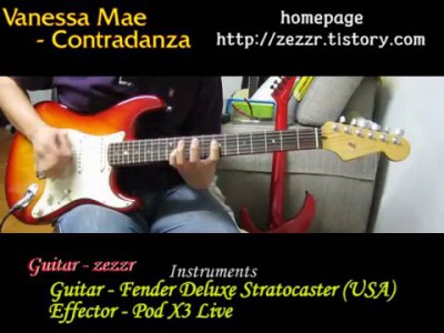 Vanessa Mae - Contradanza by zezzr