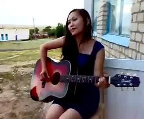Солнышко ты мое ясное - песня под гитару