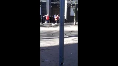 Український камікадзе під час революції 18.02.2014