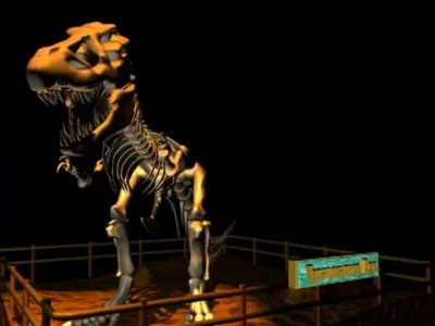 Прогулка с Динозаврами 5Д / Tyranosaurus Rex 5D - by Diski3d.ru