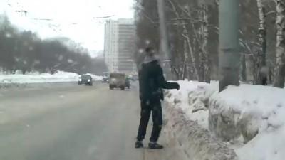 торчок на дороге