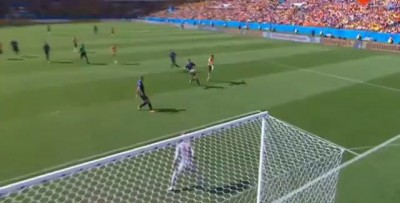 Tim Cahill Fantastic Volley Goal - Australia vs Netherlands 1-1 - World Cup 2014