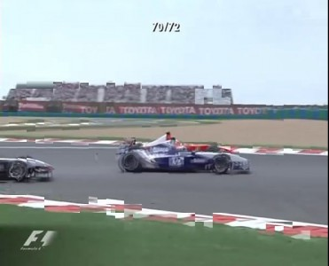 F1 France 2002: Schumacher vs. Montoya vs. Raikkonen