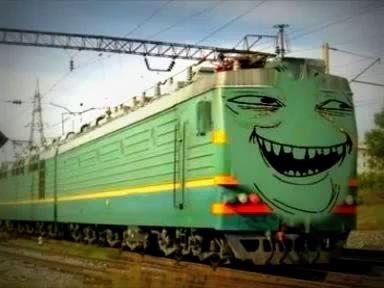 Жирный-жирный-жирный, как поезд пассажирный