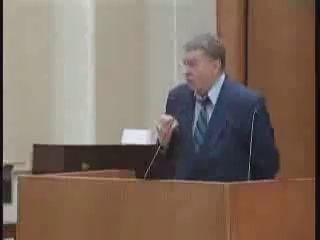 Жириновский выступает в защиту русского мата.Жжот!