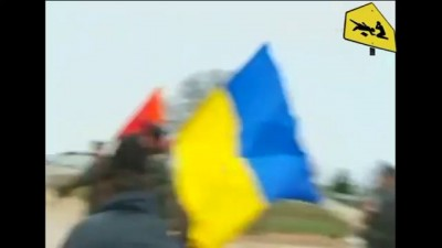 Российские военные открыли предупредительный огонь по украинцам