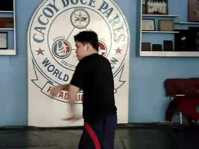 Cacoy Doce Pares Master Chuck Anthony Canete (Eskrido)