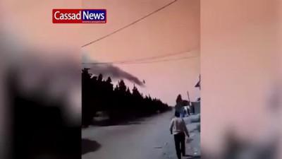 Сирия Ми 24 атака в районе Хомс 26 10