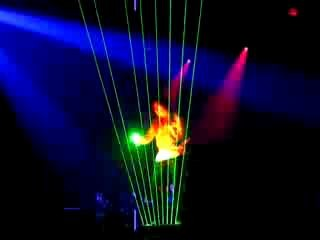 Лазер шоу Jean Michel Jarre