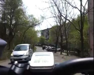 Быстрая езда на велосипеде