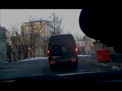 Наглый автобус